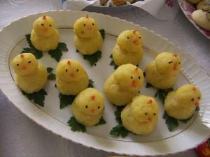 Civcivli Patates Salatası