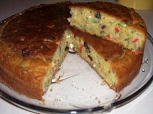 mantarlı kek tarifi