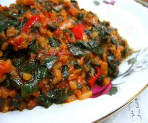 ıspanak yemegi  Ispanak Yemeği