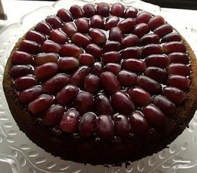 bisküvili üzüm pastası