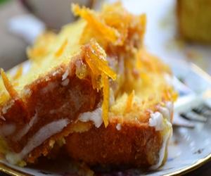 ikramlık portakallı kek