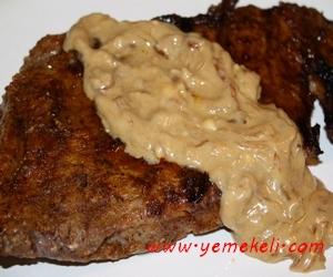beşamel soslu biftek