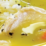 tavuk suyuna çorba