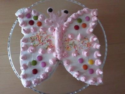 kelebek pastası