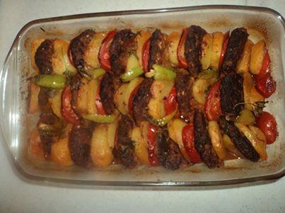 orman kebabı köfteli