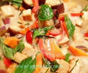 köri soslu sebzeli nuar tarifi