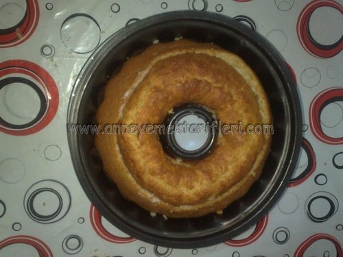 sürpriz kremalı kek