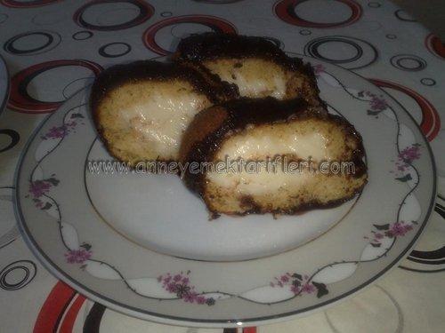 sürpriz kremalı kek resimli