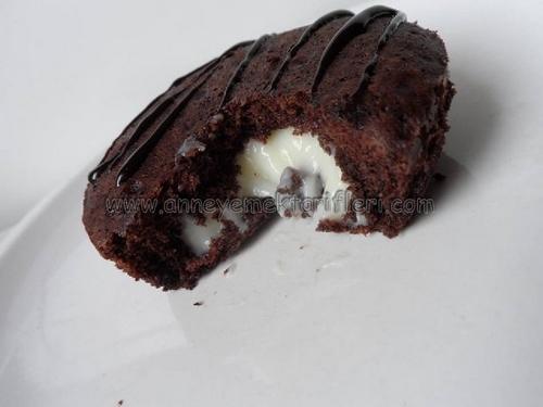 içi kremalı minik kek