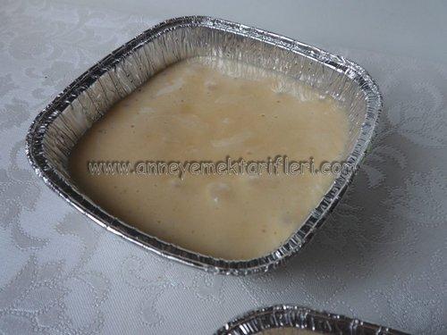 kasede cevizli kek yapımı
