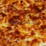 fırında peynirli erişte