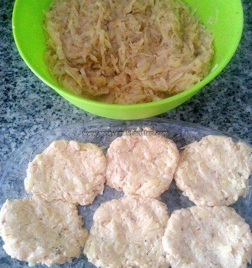 patates köftesi yapımı