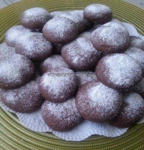 resimli toz pudingli çikolatalı kurabiye