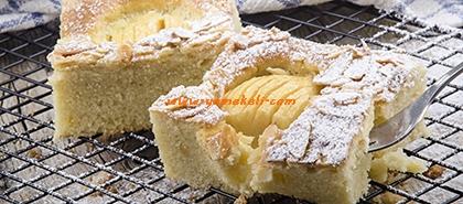 elmalı muhabbet pastası tarifi