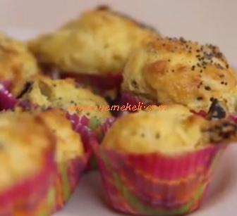mısır unlu mini cup cake tarifi