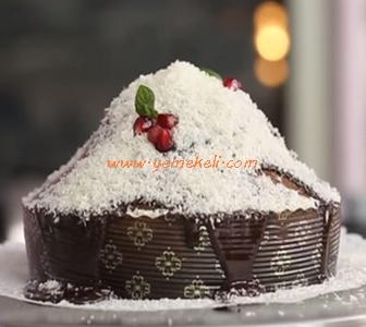 kahveli zencefilli çikolatalı kek