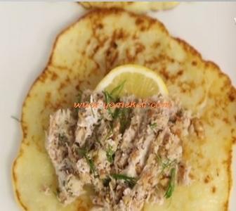 patatesli ton balıklı krep tarifi