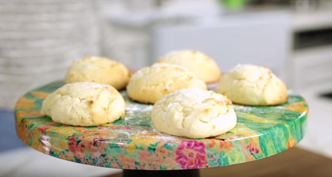 krem peynirden kurabiye
