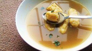 Çavdar ekmekli çorba