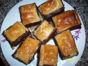 Baklavalı kek