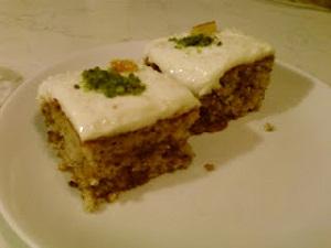 Kremalı İncirli Kek