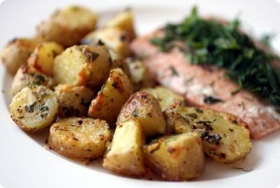 parmesanlı patates