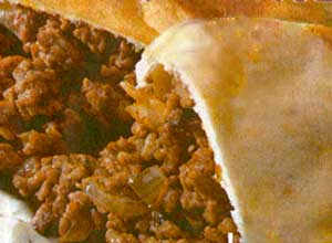 kıymalı pita