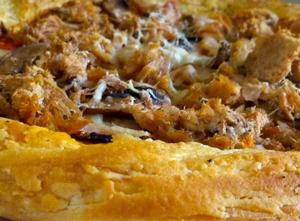 patlıcanlı milföy pizzası