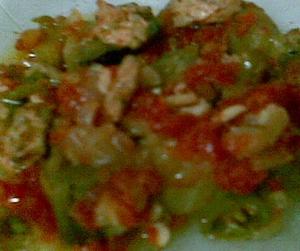 sebzeli tavuklu buğu kebabı