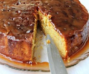 portakal soslu karamelli kek
