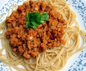 kıymalı spagetti