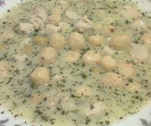 nohutlu yayla çorbası
