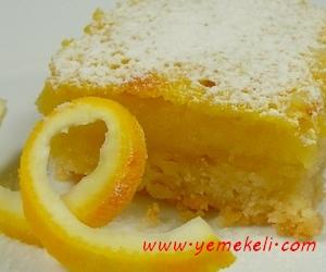 limon tatlısı