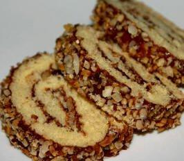 fındıklı rulo pasta kek