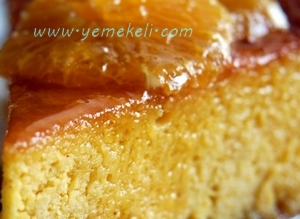 şerbetli portakal keki tarifi