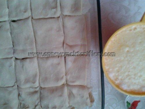 milföylü çıtır börek resimli tarifi