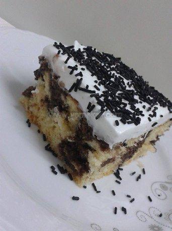 kolay şişleme pasta