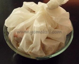 kağıtta tavuk kebabı tarifi