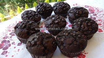 çikolatalı muffin yapımı
