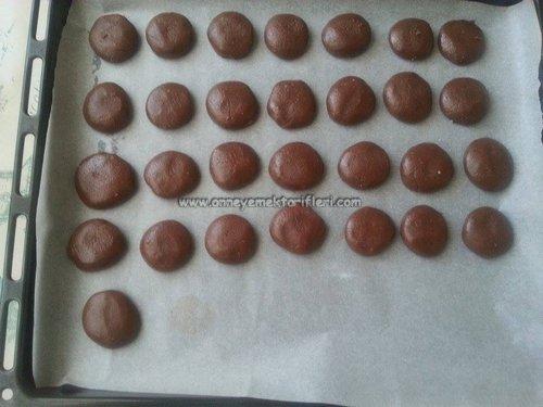 kolay toz pudingli çikolatalı kurabiye