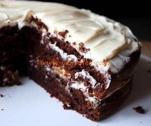 pudingli yaş pasta tarifi