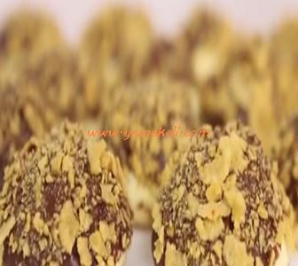 çikolatalı, mısır gevrekli kurabiye tarifi