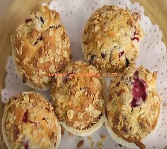 frambuazlı yaban mersinli cupcake tarifi
