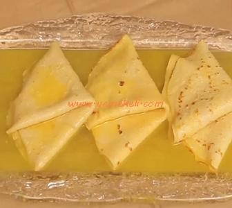 portakallı krep süzet