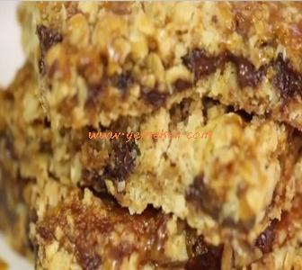 karamelli kurabiye tarifi