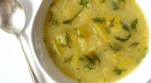 Ekşili pırasa çorbası
